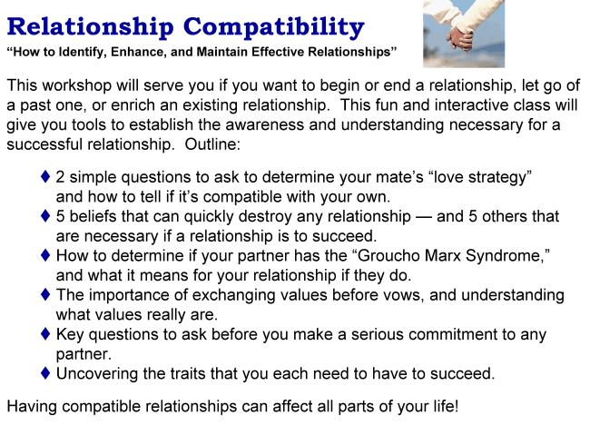 Ronald Kaufman relationship compatibility keynote